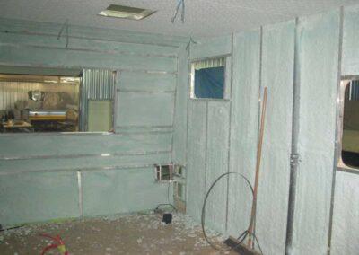 Étape no 12.0, Isolation complète de l'intérieur de l'habitacle et installation du plafond, vue arrière.