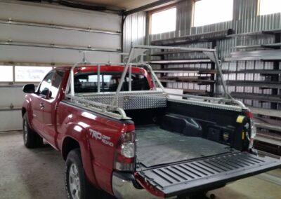 Back rack avec support et coffre