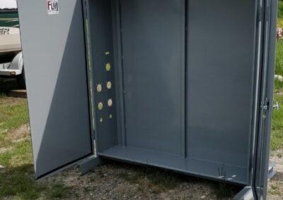 Boitié électrique ouvert