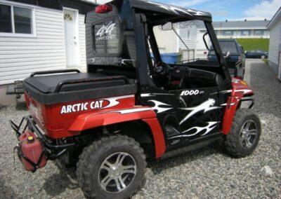 Cabine en acier pour un côte à côte ARCTIC CAT