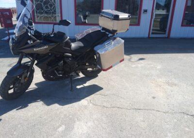 Coffre de transport pour moto Kawasaki Versys