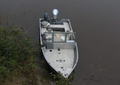 Console de bateau