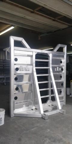 Deck forestier avec support droit