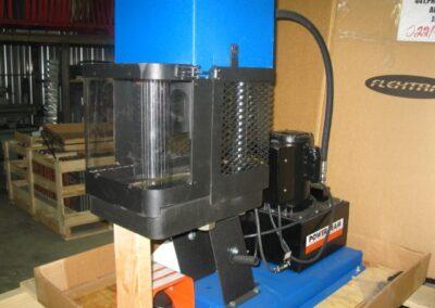 Garde pour presse à tuyaux modèle vertical