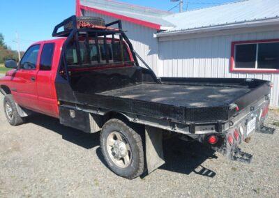 Plateforme entière avec roof rack pour camionnette