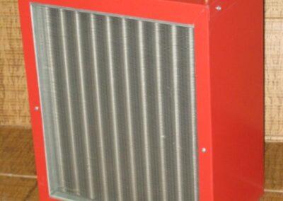 Ventilo-convecteur pouvant fournir 45,000 BTU créé par la Ferblanterie LM Bertrand